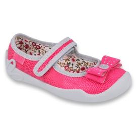 Încălțăminte pentru copii Befado 114X361 roz gri