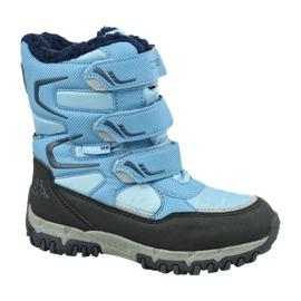 Cizme de iarnă Kappa Great Tex Jr 260558T-6467 albastru