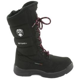 Cizme de zăpadă cu membrană American Club SN12 negru