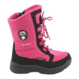 American Club Cizme de zăpadă cu membrana americană SN13 roz / negru