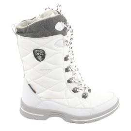 Cizme de zăpadă cu membrană American Club SN08 alb