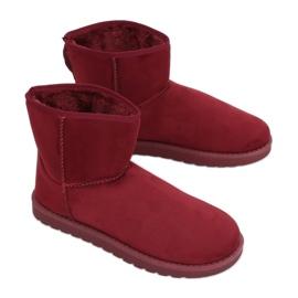 Cizme de zăpadă clapetă emusy C-08 Ed roșu