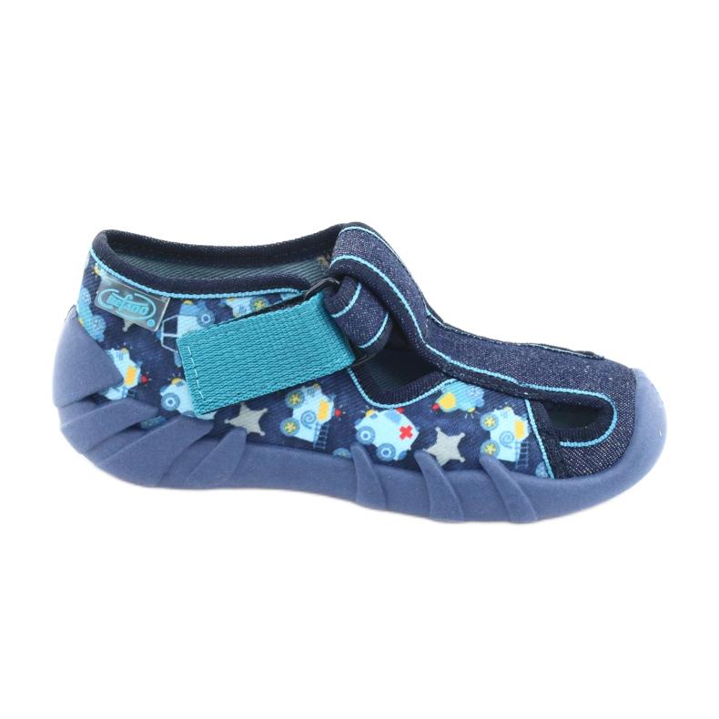 Încălțăminte pentru copii Befado 190P090 albastru marin albastru