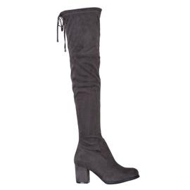 J. Star Cizme cu pantaloni înalți gri