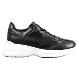 SHELOVET Adidasi negri negru