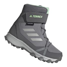 Pantofi Adidas Terrex Snow Cf Cp Cw Jr G26580 gri