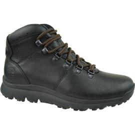 Pantofi Timberland World Hiker Mid M A211J negru