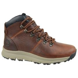 Pantofi Timberland World Hiker Mid M A213Q maro