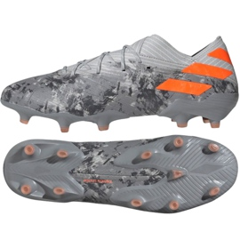 Pantofi de fotbal Adidas Nemeziz 19.1 Fg M EF8281 gri