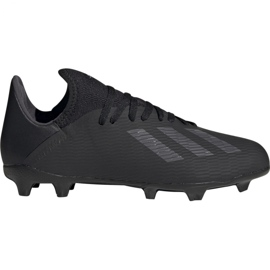 Pantofi de fotbal Adidas X 19.3 Fg Jr F35364 negru negru