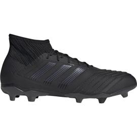Pantofi de fotbal Adidas Predator 19.2 Fg M F35603 negru negru