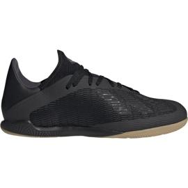 Pantofi de fotbal Adidas X 19.3 In M F35369 negru negru