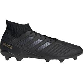 Pantofi de fotbal Adidas Predator 19.3 Fg M F35594 negru negru