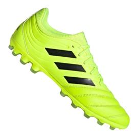 Pantofi de fotbal Adidas Copa 19.3 Ag Ig M EE8152 galben galben