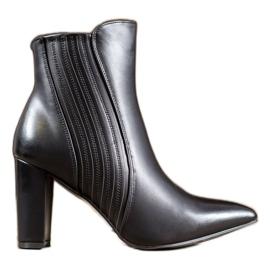 SHELOVET Cizme negre sexy negru