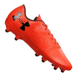 Under Armour Magnetico Select pantofi de fotbal Fg M 3000115-600 roșu