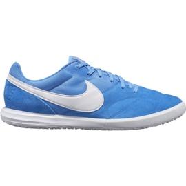 Pantofi de fotbal Nike Premier Ii Sala Ic M AV3153 414 alb, albastru albastru
