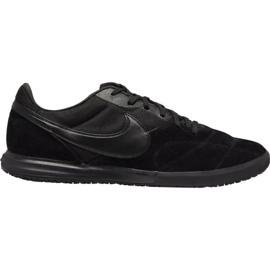 Pantofi de fotbal Nike Premier Ii Sala M Ic AV3153 011 negru negru