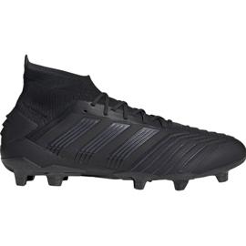 Cizme de fotbal adidas Predator 19.1 Fg M negru negru