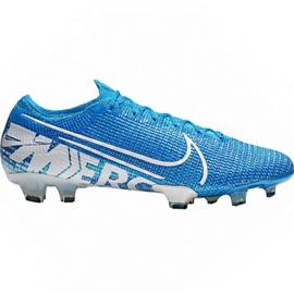 Pantofi de fotbal Nike Mercurial Vapor 13 Elite Fg M AQ4176 414 alb, albastru albastru