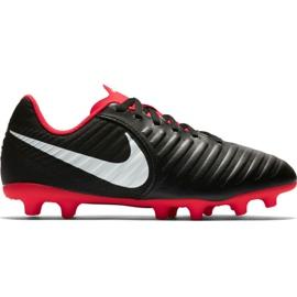Pantofi de fotbal Nike Tiempo Legend 7 Club Mg Jr AO2300 006 negru