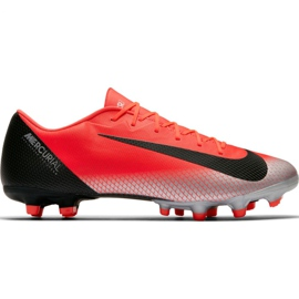 Pantofi de fotbal Nike Mercurial Vapor 12 Academy CR7 Mg M AJ3721 600 roșu
