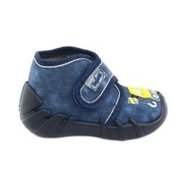 Încălțăminte pentru copii Befado 525P012 albastru marin galben