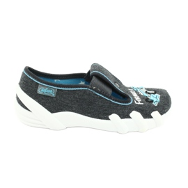 Încălțăminte pentru copii Befado 290X174 albastru gri