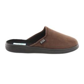 Befado bărbați pantofi pu 125M008 maro