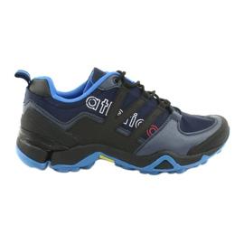 Pantofi sport Atletico 8003 negri bleumarin