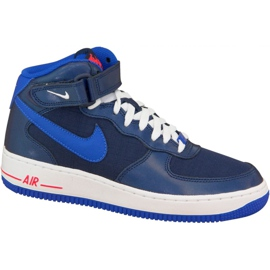 Pantofi Nike Air Force 1 Mid Gs W 314195-412 bleumarin
