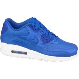 Pantofi Nike Air Max 90 Ltr Gs W 724821-402 bleumarin
