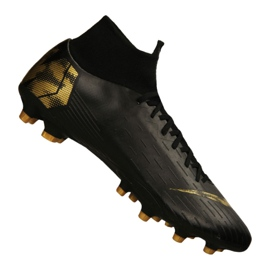 Pantofi Nike Superfly 6 Pro AG-Pro M AH7367-077 negru, aur