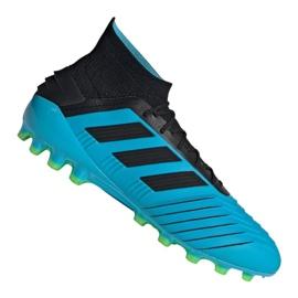 Pantofi de fotbal Adidas Predator 19.1 Ag M F99970 albastru albastru