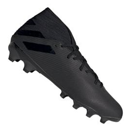 Pantofi Adidas Nemeziz 19.3 Mg M EF8874 negru negru