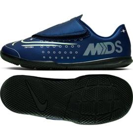 Nike Mercurial Vapor 13 Club Mds Ic PS (V) Jr CJ1176-401 pantofi de interior bleumarin