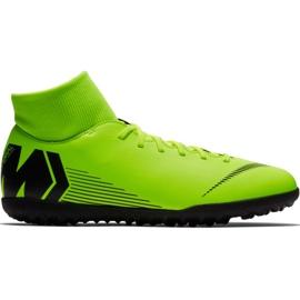 Pantofi de fotbal Nike Mercurial Superfly 6 Club Tf M AH7372 701 negru, verde verde