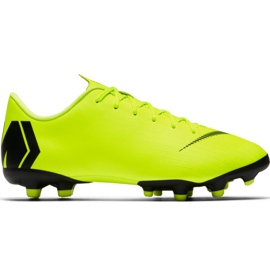 Pantofi de fotbal Nike Mercurial Vapor 12 Academy Mg Jr AH7347 701 galben