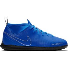 Pantofi de fotbal Nike Phantom Vsn Club Df Ic Jr AO3293 400 albastru