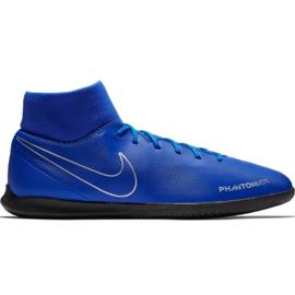 Pantofi de fotbal Nike Phantom Vsn Club Df Ic M AO3271 400 albastru albastru