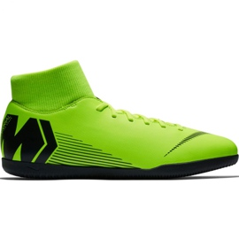Pantofi de fotbal Nike Mercurial Superfly X 6 Club Ic M AH7371 701 negru, verde