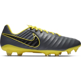 Pantofi de fotbal Nike Tiempo Legend 7 Pro Fg M AH7241 070 negru, galben