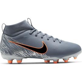 Pantofi de fotbal Nike Mercurial Superfly 6 Academy Mg Jr AH7337 408 orange, gri / argintiu