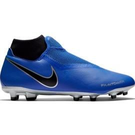 Pantofi de fotbal Nike Phantom Vsn Academy Df FG / MG M AO3258 400 negru, albastru