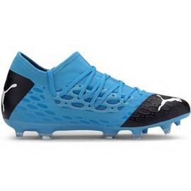Puma Future 5.3 Netfit Fg Ag M 105756 01 pantofi de fotbal albastru albastru