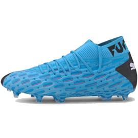 Pantofi de fotbal Puma Future 5.1 Netfit Fg Ag M 105755 01 albastru albastru