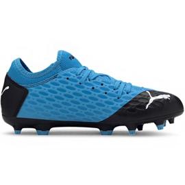 Puma Future 5.4 Fg Ag Jr 105810 01 pantofi de fotbal albastru