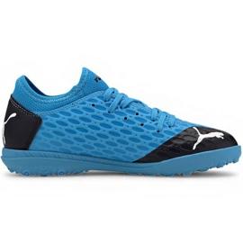 Puma Future 5.4 Tt Jr 105813 01 pantofi de fotbal albastru