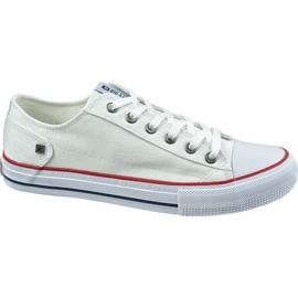 Pantofi Big Star W DD274336 alb
