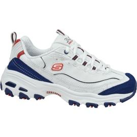 Pantofi Skechers D'Lites W 13148-WNVR alb